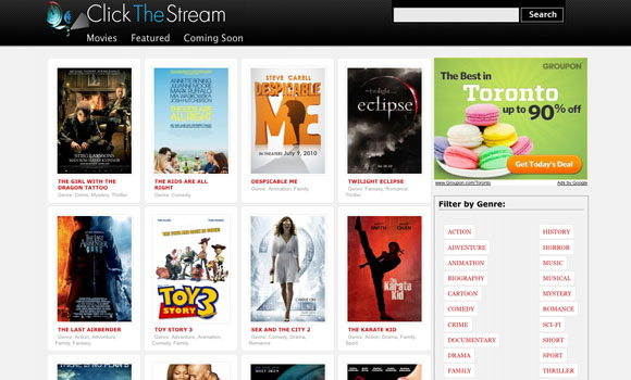 Movie Streaming Site