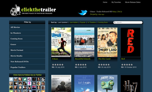 Trailer Streaming Site
