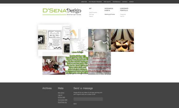 D'Sena Design - Graphic Designer