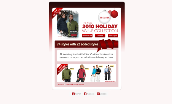 Christmas HTML Newsletter