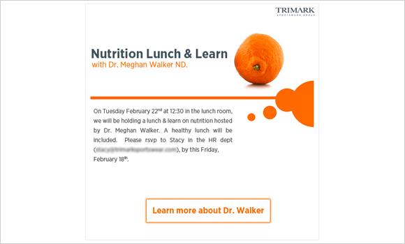 Nutrition Lunch & Learn
