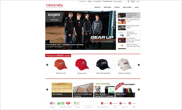 Trimark's New Home Page