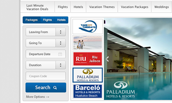 Booking Engine for Travel Website