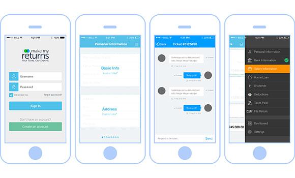 eFile Taxes - App Design