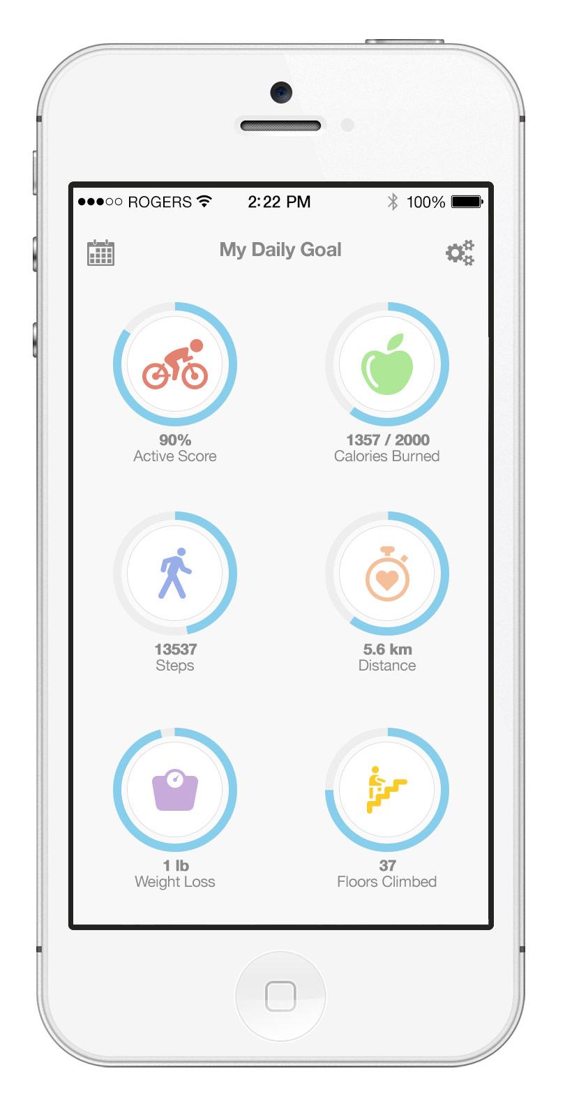 Fitness app zaur aliyev designer toronto