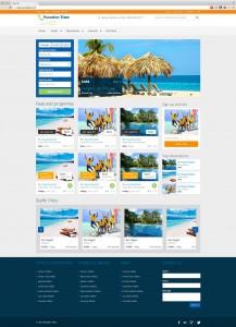 Minimalist Clean Travel Website